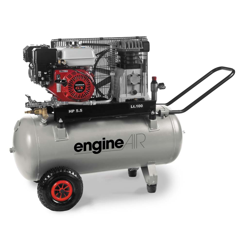 abac engineair 5 100 petrol driven air compressor. Black Bedroom Furniture Sets. Home Design Ideas