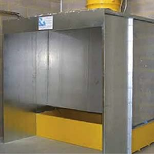 Water Wash Spray Booth 3000mm From Spraydirect Co Uk