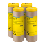 Q1 Pre Taped Masking Paper 300mm X 25m Multi Pack of 4
