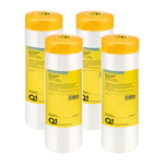 Q1 Pre Taped Washi Film 1400mm X 33m Multi Pack of 4